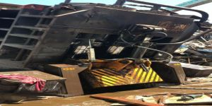 İzmir'de Hurda Deposunda Patlama: 1 Ölü