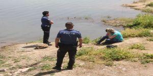Nişanlısıyla tartıştı kendini göle attı