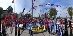 Bandırma'da 1 Mayıs coşkusu