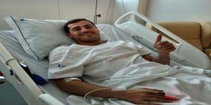 """Casillas: """"Büyük Bir Korku Yaşadım Ama İyiyim"""""""