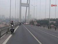 Boğaziçi Köprüsü'nde 9'u 5 geçe hayat durdu
