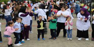 Avrasya'da Çocuklar Doyasıya Eğlendi