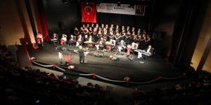Muğla Türk Musikisi Derneği Korosu Konserine Yoğun İlgi