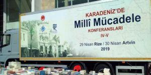 Türk Tarih Kurumu Tanıtım Tırı Samsun'da