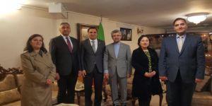 Tded Erzurum Şube Başkanı Ertaş'tan Başkonsolos Solkanzadeh'e Ziyaret