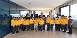 Miniklere Başkan Gümrükçü'den Yerel Yönetim Dersi
