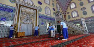 İbadethaneler Ramazan Ayı Öncesi Temizlendi