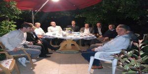 Kaya'dan Aktemur'a baş sağlığı ziyareti