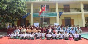 Tika'dan Myanmar'da Eğitime Destek