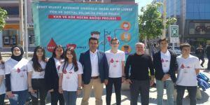 Safranbolu'da 'Bir Damla Kan Bin Umut' Projesi