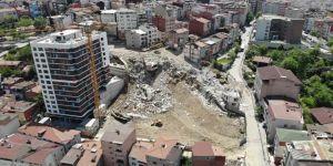 Kağıthane'de 14 Binanın Yıkımı Tamamlandı