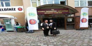 Biga MYO öğrencisi bilimsel kongreye katıldı