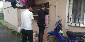 Bafra'da Evden Laptop Hırsızlığı