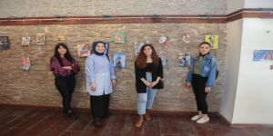 'Posta Sanatı Sergisi' Safranbolu'da Açıldı