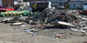 Çöp yığınları ortadan kaldırıldı