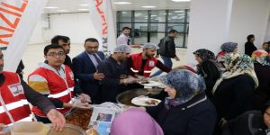 Hasta yakınları için iftar