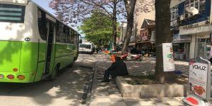 Vatandaşlar otobüs duraklarını geri istedi