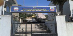 Tekirdağ'da Kaçak Kazı Girişimine Jandarmadan Suçüstü