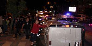 Manisa'da Trafik Kazası:4 Yaralı