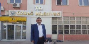 Özbağ Belediyesine Mhp'li Başkan T.c. İbaresini Astırdı