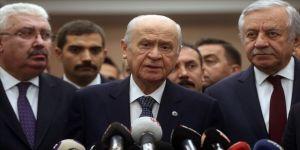"""Mhp Lideri Bahçeli: """"Cumhur İttifakı Türk Milletinin Ta Kendisidir"""""""