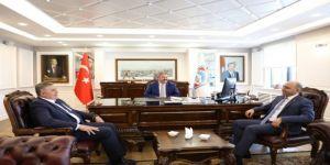 """Başkan Dr. Mustafa Palancıoğlu, """"Üretimi Artıran, Ekonomiye Katkı Sağlayan Ve İstihdam Artıcı Çalışma Gerçekleştiren Her Kuruma Destek Olur Ve Katkı Sağlarız"""""""