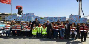 Trafik Haftası Etkinliklerine Çocukların Katılımı Sağlanıyor