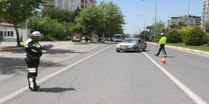 Şehir Merkezinde Trafik Denetimleri Sıklaştırıldı