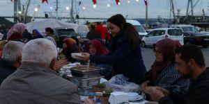 Beykozlular Poyrazköy'de iftarlarını açtı