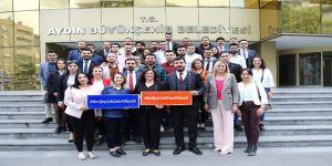 Chp'li Gençler Başkan Çerçioğlu'nu Ziyaret Etti