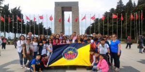 Gaziantep Kolej Vakfı Öğrencileri Çanakkale'de