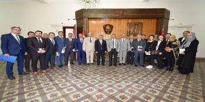 Vali Deniz, Ortaokul Müdürleriyle Toplantı Yaptı