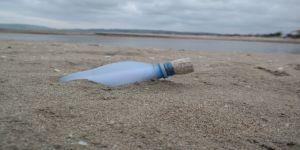 Kırım'ın Yalta kentinden atılan şişe, Sinop'ta bulundu