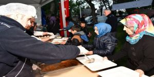 Başkan Taban Orucunu Vatandaşlarla Açtı