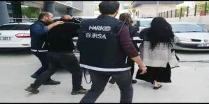 Bursa'da Uyuşturucu Operasyonunda 1'i Kadın 12 Kişi Gözaltına Alındı