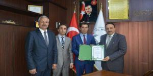 Mert Özkan Anaokulu'na Çevre Beratı Ödülü