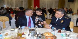 Emniyetten Şehit ve Gazi Ailelerine iftar yemeği