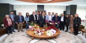 Chp'lilerden Başkan Turgay Erdem'e Ziyaret