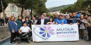 Engelliler Haftası Etkinlikleri Yürüyüş İle Başladı
