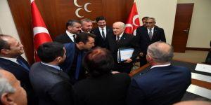 MHP İl Başkanı Avşar'dan Ankara'ya ziyaret