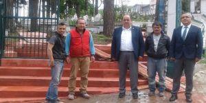 Gülüç'te Ki Mezarlıklar Yeniden Düzenleniyor