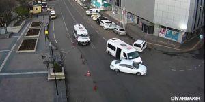 Diyarbakır Ve Batman'da Trafik Kazaları Mobese'ye Yansıdı