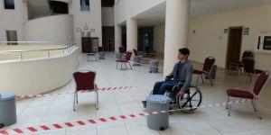 Öğrenciler, Engelliler Haftasında Empati Yaptı