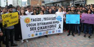 Okulda cinsel istismar iddiası protesto edildi