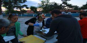 Ergene İlkokulunda iftar programı düzenlendi