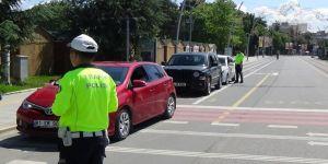 Düzce'de Trafik Uygulamaları Aralıksız Sürüyor