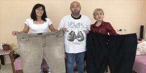 Bir yılda 108 kilo zayıfladı