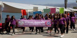 Fethiyeli Engellilerden Anlamlı Yürüyüş