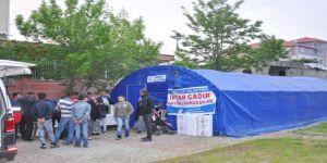 Gölbaşı Belediyesinden 9 Noktaya İftar Çadırı