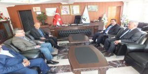 Emniyet Müdürü Arıbaş'tan Başkan Altın'a Ziyaret